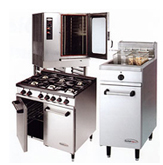 Full range of industrial and commercial catering equipment